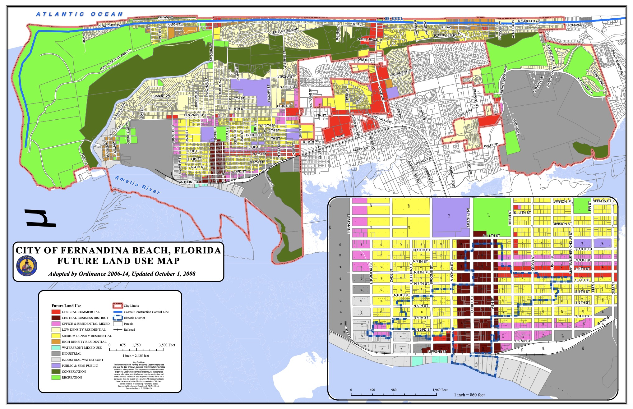 Fernandina's Future Land Use Map and Clarity